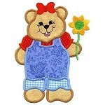 Bear With Daisy Design