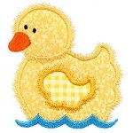 Applique Duck Design
