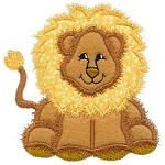 Lion Applique Design
