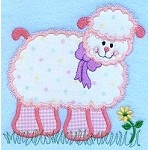 Sheep Applique Design