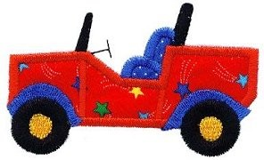 Jeep Applique Design