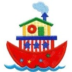 Ship Applique Design