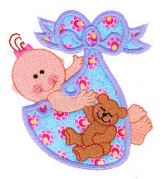 Bundle Of Joy Applique Design