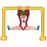 Parallel Bars Applique Design