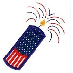 Firecracker 2 Applique Design