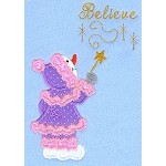 Believe Applique Design