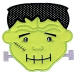 HWB Frankenstein Applique Design