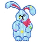 Floppy Ear Bunny Applique Design