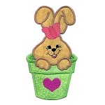 Bunny Applique Design