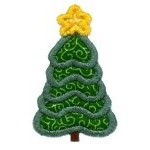 Tiny Tree Applique Design