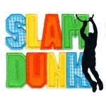 Slam Dunk Applique Design