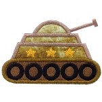 Tank Applique Design