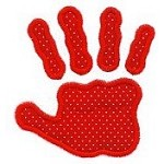 Handprint Applique Design