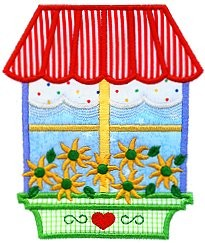 Window Applique Design