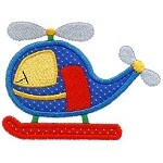 Helicopter Applique Design