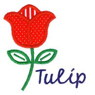 Tulip Applique Design
