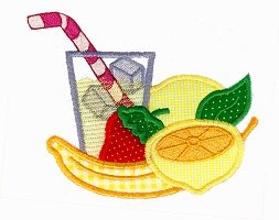 Lemonade Applique Design