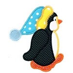 Penguin Profile Applique Designs