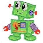 Robot Applique Design