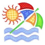 Sunny Applique Design