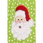 Jolly Santa Applique Design