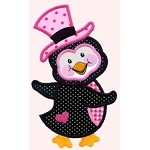 Piper Penguin Applique