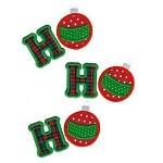 Ho Ho Ho Applique Design