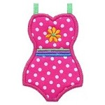 Swimsuit Applique Design