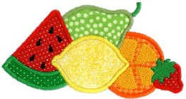 Fruit Applique Design
