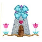 Windmill Applique Design