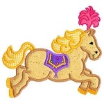 Horse Applique Design